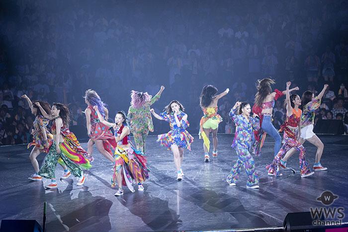 11人体制初となったE-girlsのアリーナツアー・ファイナルをWOWOWで11月18日(日)夜9:00から独占放送!