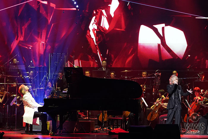 「YOSHIKI CLASSICAL 2018」オーケストラを従えYOSHIKI feat. HYDEが魅せた荘厳な『Red Swan』!演奏直後からSNSには歓喜のコメント殺到!!