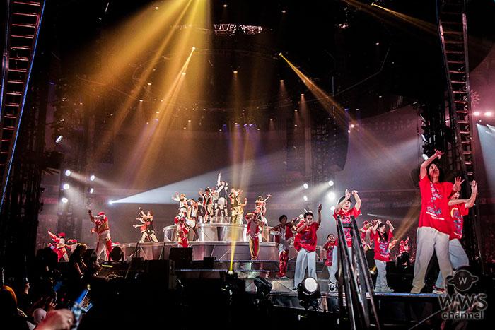 EXILE福岡 ヤフオク!ドーム公演にて 熊本、岩手の子ども達91名による「チームRising Sun Project」と共演!観客4万3000人の前で「Rising Sun」をパフォーマンス!!