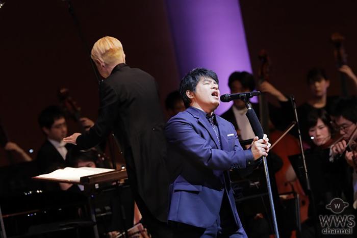 ASKA×オーケストラ全国10公演完売、静岡追加公演が決定!12月1日よりチケット発売スタート!