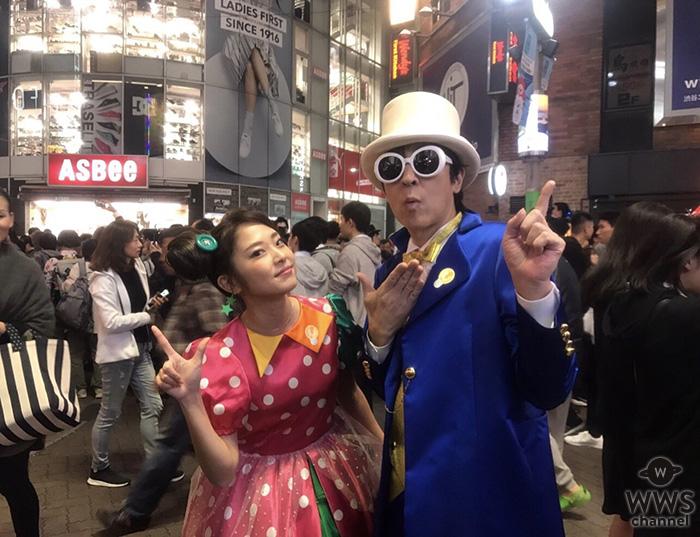 伊藤一朗、ハロウィーンコスプレで渋谷に現るも気づかれず!
