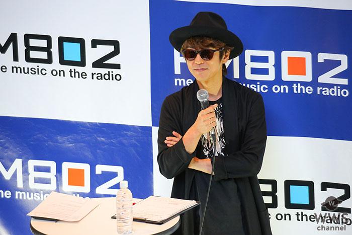 JIRO(GLAY)のレギュラーラジオ番組、FM802「BUGGY CRASH NIGHT」20周年記念公開収録を大阪で実施!