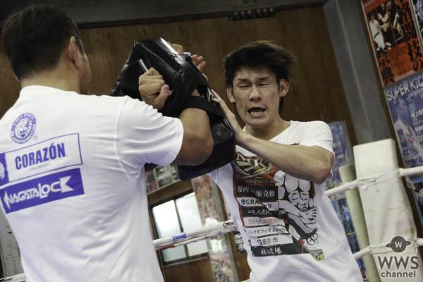 永田裕志と町田光が12月9日のvsチャンヒョン・リー戦に向けて特訓!!
