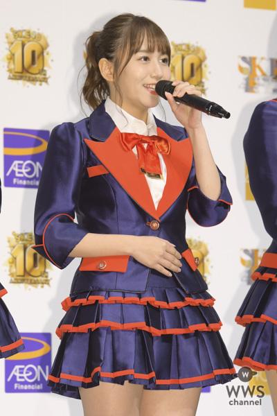 SKE48・松井珠理奈、復帰後初の囲み取材に登場!ナゴヤドームへの思いを述べる!