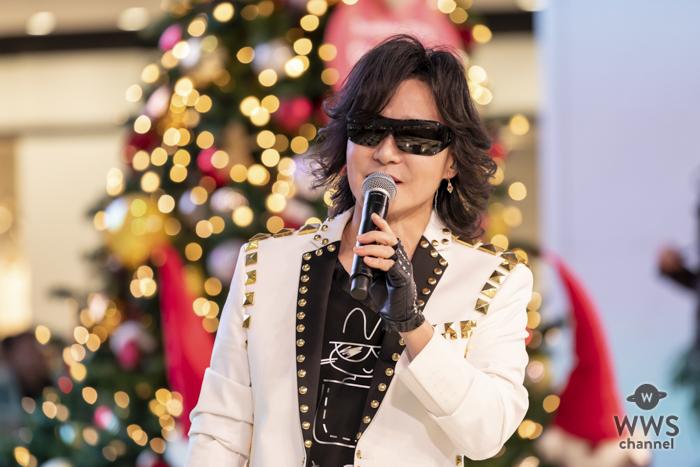 X JAPAN Toshl、アルバムリリースイベントを都内で開催!来年1月のドラマ主題歌も決定!