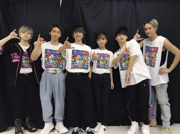 AAA・末吉秀太がドームツアー終演後のメンバー写真を投稿!「どの会場もどの公演も最高だったよ!」