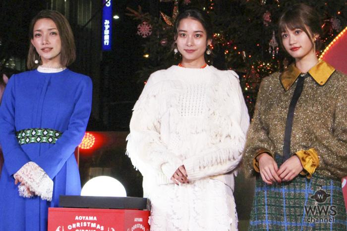 後藤真希、生見愛瑠ら豪華美女がエイベックス・クリスマスツリー点灯式に参加!