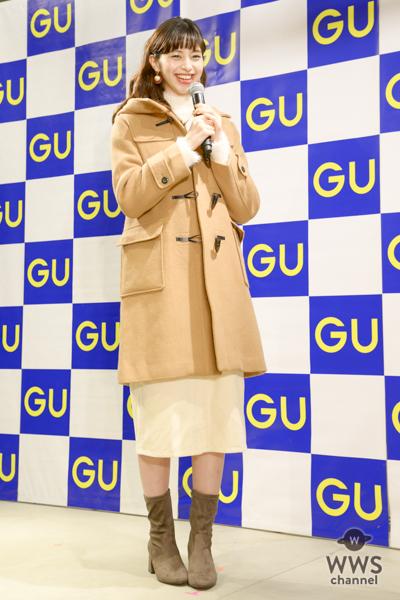 中条あやみがGU(ジーユー)の次世代型店舗のオープニングイベントに登場!