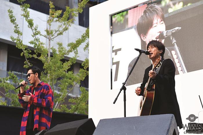 コブクロ、結成の地 大阪で過去最大のストリートライブ!!