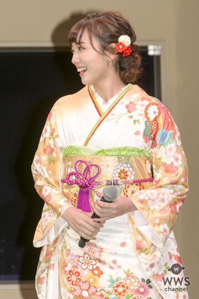 女優・飯豊まりえ、思い出の場所でイルミネーション点灯式に参加!「エモーショナルな気持ちです」!