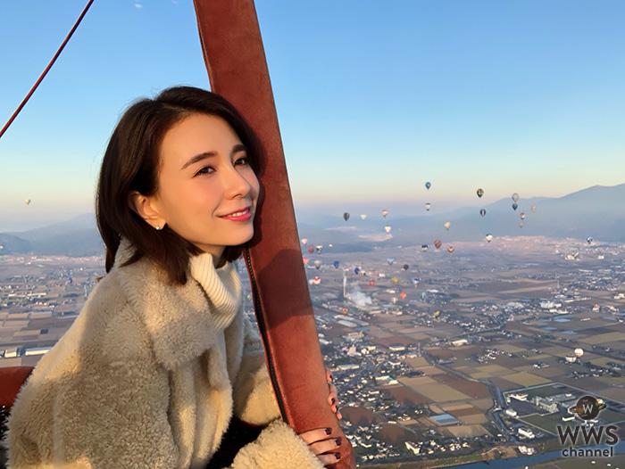 May J.、世界的な熱気球イベントでバルーンに体験搭乗!イベントステージではスペシャルライブも!!