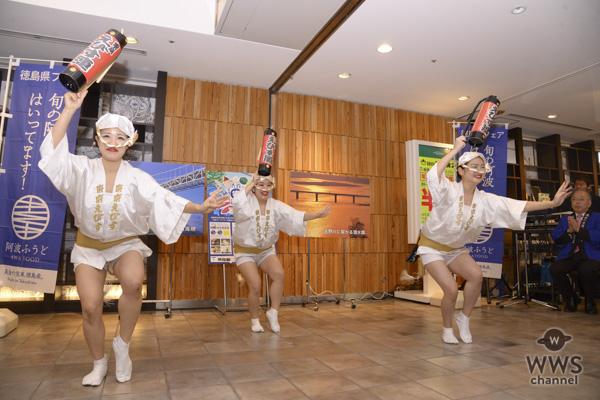 STU48・三島遥香、矢野帆夏が「渋谷 de 阿波おどり」に参加!三島「この秋は渋谷で徳島を楽しんでなー」と徳島弁でPR!