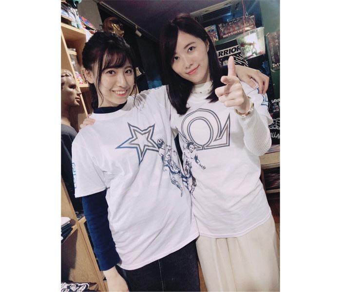 SKE48・荒井優希、松井珠理奈とプロレス2ショット公開!「凄いツーショット」「SKEのゴールデン☆ラヴァーズだ!」など反響の声も!