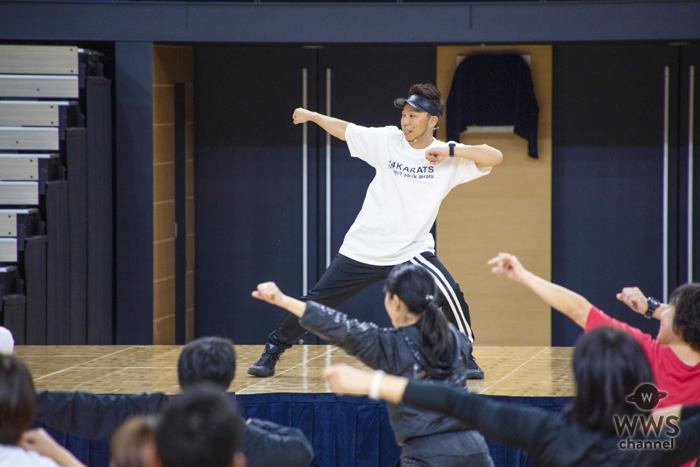 EXILE ÜSA、教職員を対象としたダンスレッスンを開催!「ダンスの素晴らしさを伝えていきたい」