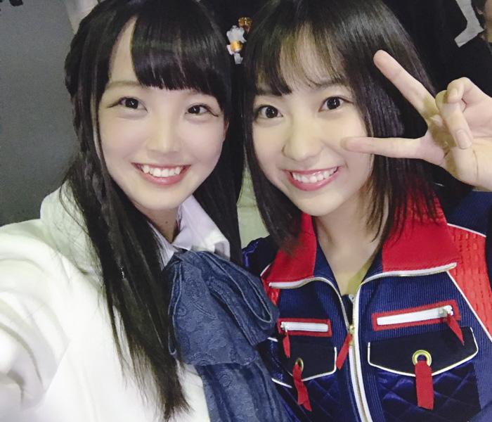 STU48・福田朱里が、SKE48・日高優月との2ショット公開!「優月ちゃんと写真撮れて良かったね」と温かな声