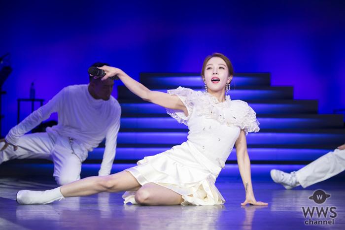 BoA、7年ぶりX'masライブを開催!『メリクリ』から最新ダンス曲で魅せた見どころ満載のステージ!