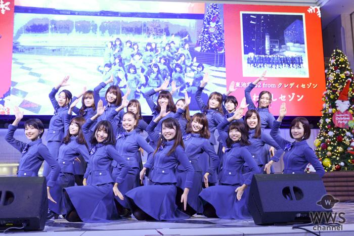 東池袋52がクリスマス当日にサンシャインシティでライブ開催!