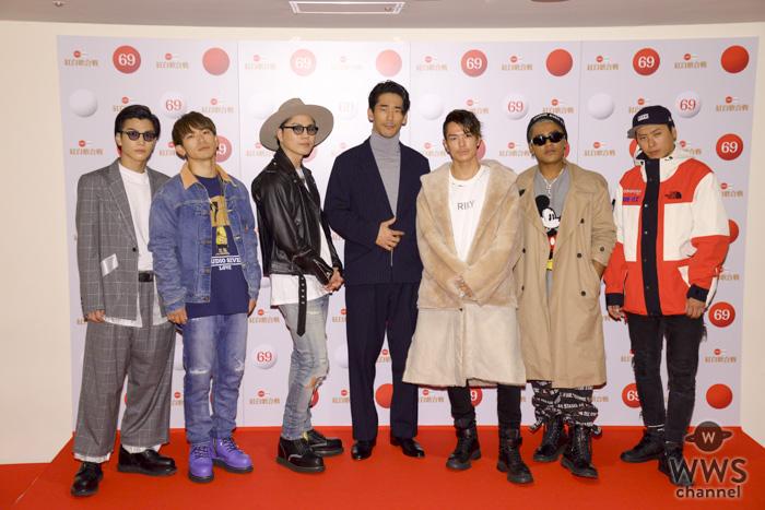 三代目JSB、今年の漢字は『漢』!?「第69回NHK紅白歌合戦」のリハーサルに登場!