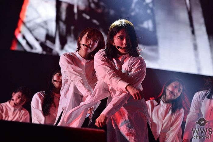 【ライブレポート】欅坂46が「EARTH STAGE」のトップバッターに登場!<rockin'on presents COUNTDOWN JAPAN 18/19>