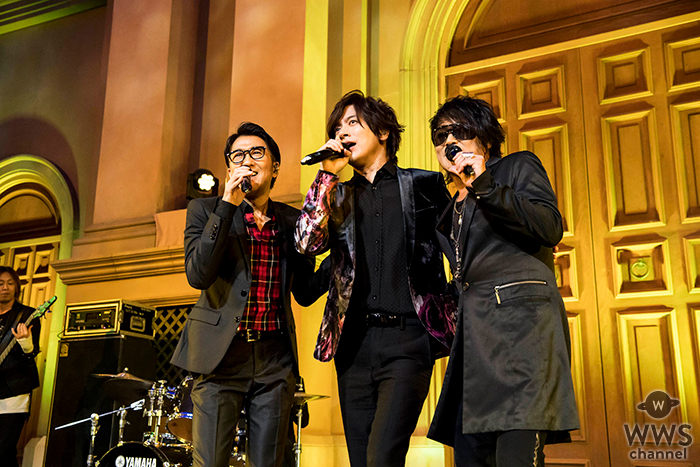 DAIGO、Beingカバーアルバム「Deing」リリースイベントで 森友嵐士(T-BOLAN)・池森秀一(DEEN)と奇跡のトリプル共演!!