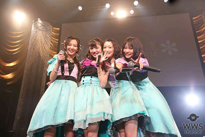 NEWシングル発売決定発表も!東京女子流マイナビBLITZ赤坂にて全曲ライブ今度は4人で完走!
