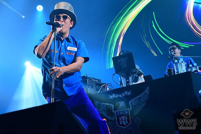 【ライブレポート】結成30周年を迎える電気グルーヴが「GALAXY STAGE」に登場!<rockin'on presents COUNTDOWN JAPAN 18/19>