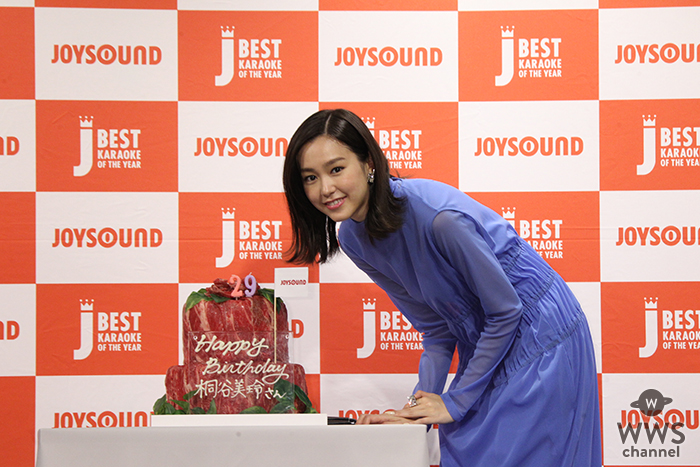 JOYSOUND 2018年プロモーションサポーター桐谷美玲登場!「JOYSOUND BEST KARAOKE OF THE YEAR 2018 」開催!!