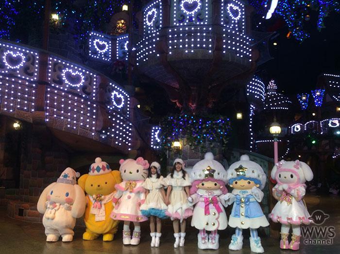 サンリオピューロランドでホワイトクリスマスをテーマに25日まで『ピューロクリスマス』開催!