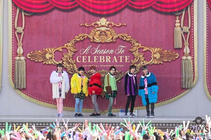 超特急、ユニバーサル・スタジオ・ジャパンで結成7周年を祝うスペシャルライブを開催!