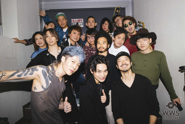 SKY-HIが『SKY-HI ROUND A GROUND 2018』ファイナル2Days初日公演で、MIYAVI、金子ノブアキら豪華共演!!