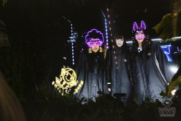 霜降り明星、NMB48らが体験型ナイトウォーク『SAKUYA LUMINA(サクヤルミナ)』内覧会に参加!