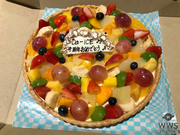 Da-iCE、5周年サプライズに感激!!
