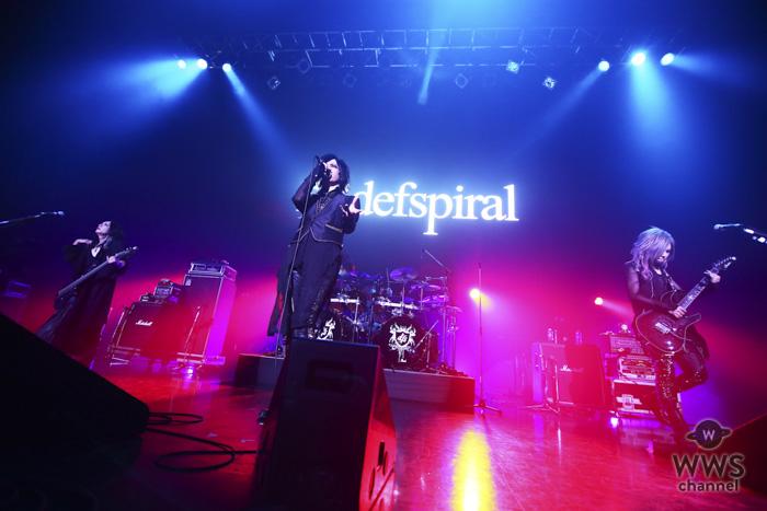 【ライブレポート】defspiralが重厚さを増したhideの『DOUBT』を届ける!!<hide Birthday Party 2018>