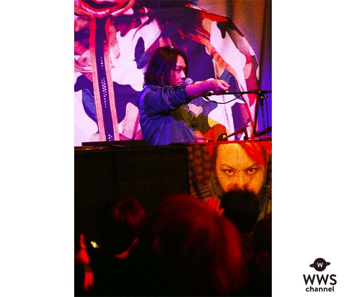 【ライブレポート】DJ-INAがhideの人気ナンバーを次々とDJプレイ!祝福ムード満載なライブ会場に塗り替える!!<hide Birthday Party 2018>