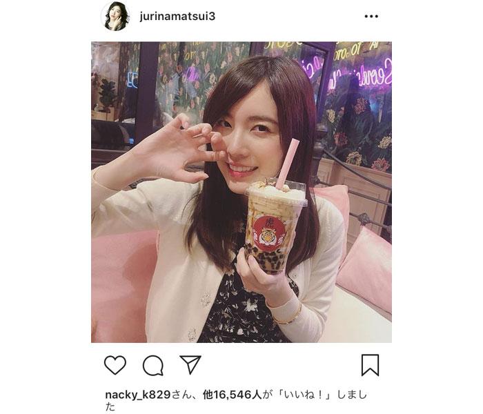 SKE48・松井珠理奈、半年振りのインスタ更新!タイ・バンコクで「インスタ映え」100連発!!
