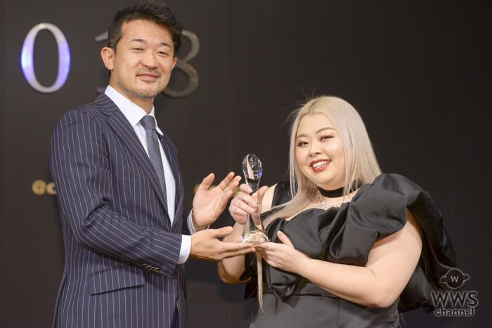 渡辺直美がアットコスメ「ビューティ・パーソン・オブ・ザ・イヤー」を受賞!「びっくりしています」!