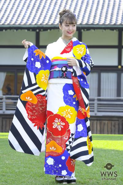 藤田ニコルが「オスカー晴れ着撮影会」に登場!「やりたいこと全部やり尽くした」