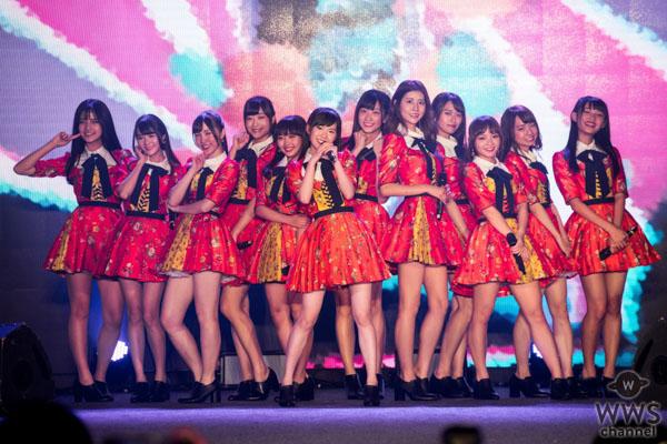 アジア最大級のインフルエンサーの祭典『COOL JAPAN FEST 2018』でAKB48 Team TPがライブを披露!!
