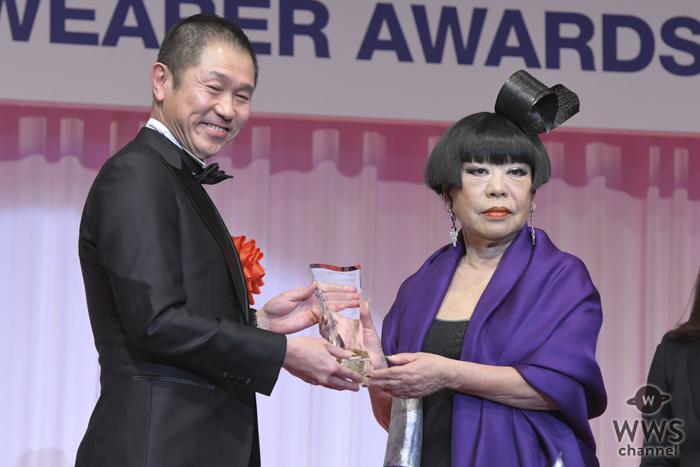 コシノジュンコが「第30回日本ジュエリーベストドレッサー賞」を受賞!「特別賞は無限大」と喜びを述べる!!