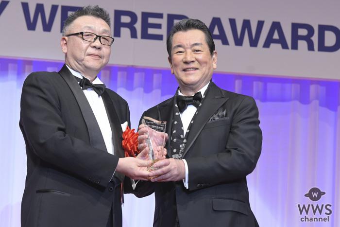 加山雄三が「第30回日本ジュエリーベストドレッサー賞」を受賞!夫婦の思い出をスピーチ!!