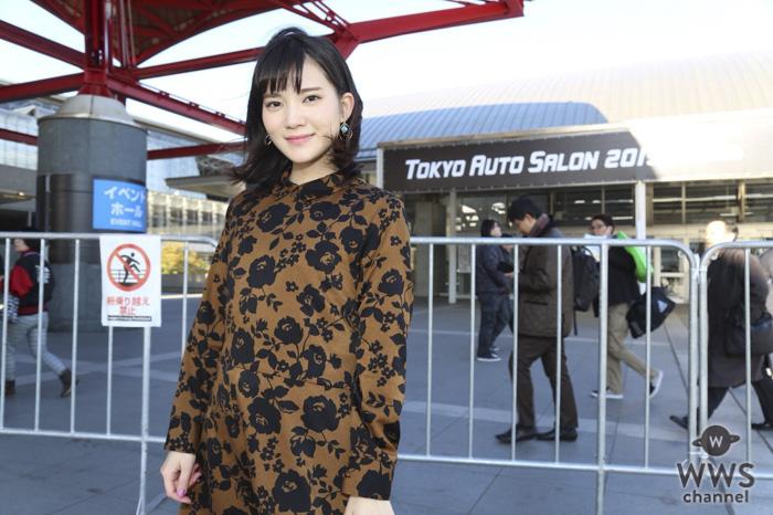 東京オートサロン2019が開幕!土井世梨奈がコンパニオン山本成美、生田ちむにインタビュー!!