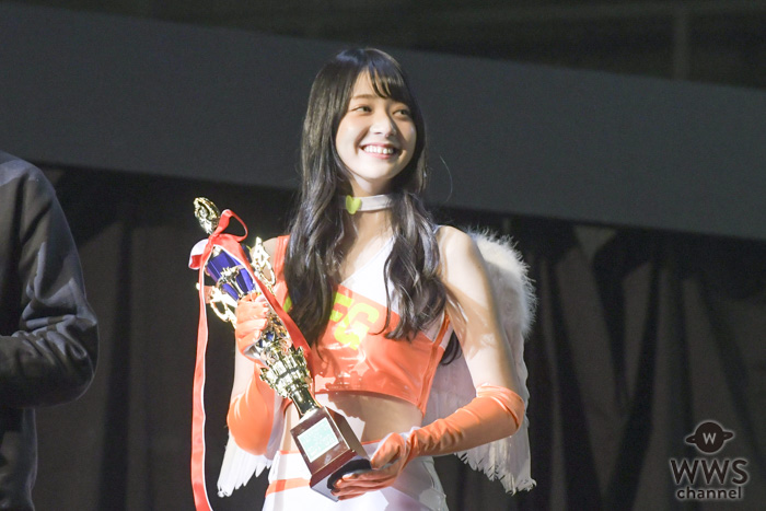 夢みるアドレセンス・山口はのんが「日本レースクイーン大賞2018」のステージに登場!