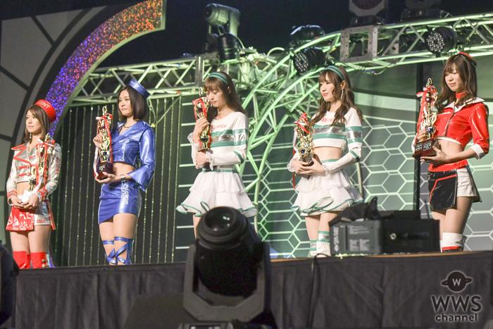 【写真特集】「日本レースクイーン大賞2018」の表彰式が東京オートサロン2019で開催!