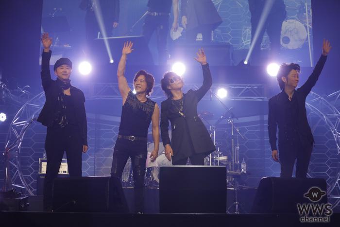 【ライブレポート】T-BOLANが「東京オートサロン2019」で開催の音楽ライブのトリに登場!『じれったい愛』『離したくはない』など名曲を披露!