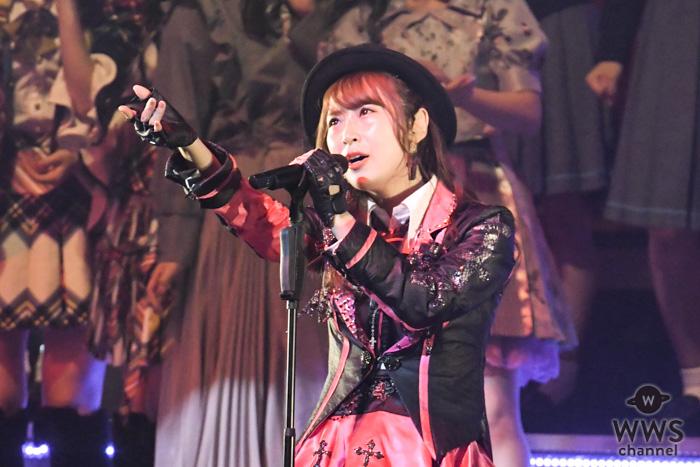 高柳明音、ユニット曲『クロス』でTDCホールを赤く染め上げる!<AKB48 リクアワ2019・2日目>