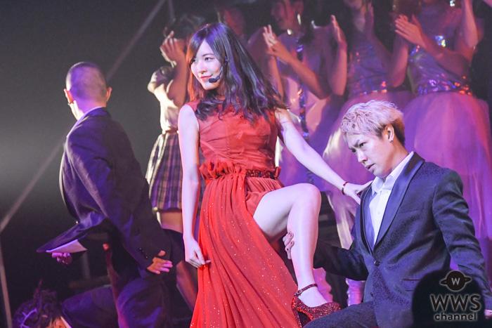 松井珠理奈ソロ曲『赤いピンヒールとプロフェッサー』がランクイン!妖艶なパフォーマンスで大人の表情を魅せる!<AKB48 リクアワ2019・2日目>