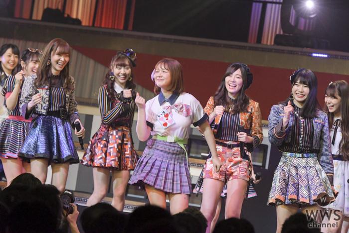 HKT48・村重杏奈、指原莉乃の呼び込みで『恋するフォーチュンクッキー』をセンターでパフォーマンス!?<AKB48 リクアワ2019・2日目>