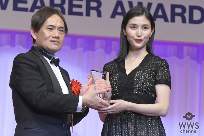 橋本マナミが「第30回日本ジュエリーベストドレッサー賞」を受賞!「良いことばかりで泥棒が来そう」!!