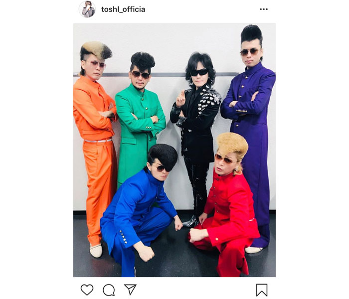 X JAPAN Toshlがボーカリスト・Toshl(龍玄とし)が氣志團とのコラボ2ショットを掲載!「氣志團ならぬ、とし團ですな」とファン歓喜!!<オールライブニッポン2019>氣志團とのコラボ2ショットを掲載!「氣志團ならぬ、とし團ですな」とファン歓喜!!<オールライブニッポン2019>