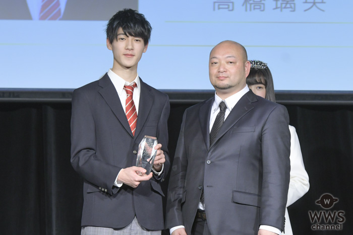 現役男子高校生・高橋璃央が「第6回日本制服アワード」で男子グランプリを受賞!